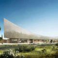 ヘルツォーク&ド・ムーロンの設計によるイスラエル国立図書館の画像