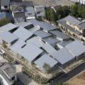 """妹島和世の設計による京都の大宮西野山の集合住宅""""NISHINOYAMA HOUSE"""""""