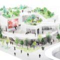 おおたBITO太田市美術館・図書館の設計資料が公開。設計は建築家の平田晃久。