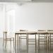 ジャスパー・モリソンのデザインによる日本の家具メーカーマルニの椅子「Lightwood Chair」
